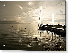 Sunset In Ephriam Acrylic Print by Carl Jackson