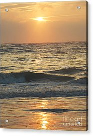 Sunset In Florida Acrylic Print