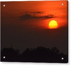 Sunset In Kentucky  Acrylic Print