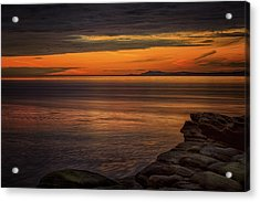 Sunset In May Acrylic Print by Randy Hall