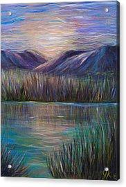 Sunset In Ponce Acrylic Print by Jenifer Kim