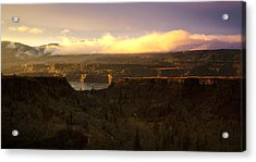 Sunset In Rowena Acrylic Print