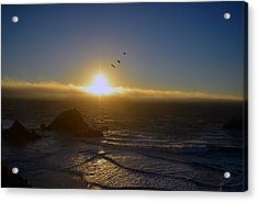 Sunset In San Francisco Acrylic Print
