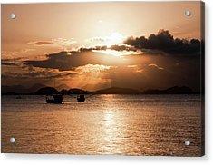 Sunset In Southern Brazil Acrylic Print