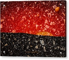 Sunset In Stone Acrylic Print