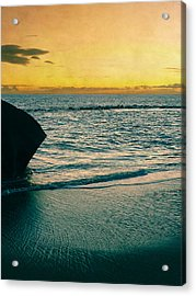 Sunset In Tenerife Acrylic Print by Loriental Photography