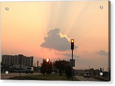 Sunset In The City 3 Acrylic Print