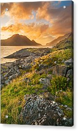 Acrylic Print featuring the photograph Sunset In The North by Maciej Markiewicz