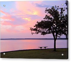 Sunset In The Pass Acrylic Print