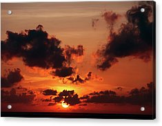 Acrylic Print featuring the photograph Sunset Inspiration by Jenny Rainbow