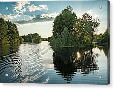 Sunset Islet. Sedniv, 2015. Acrylic Print