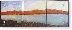Sunset Acrylic Print by Jenell Richards