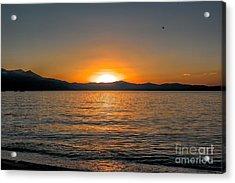 Sunset Lake 3 Acrylic Print