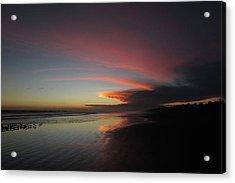 Sunset Las Lajas Acrylic Print