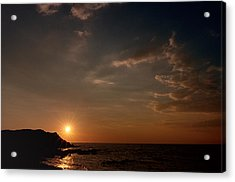 Acrylic Print featuring the photograph Sunset   by Laura Melis