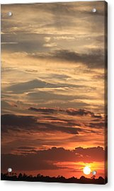 Sunset Layers Acrylic Print