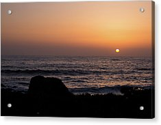 Acrylic Print featuring the photograph Sunset by Lora Lee Chapman