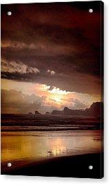Sunset Acrylic Print by Mario Bennet