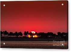 Sunset Acrylic Print by Marvin Spates