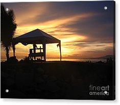 Sunset Massage Acrylic Print