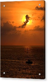 Sunset Mexico Acrylic Print by Xavier Cardell