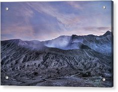 sunset Mount Bromo - Java Acrylic Print by Joana Kruse