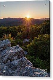 Sunset, Mt. Battie, Camden, Maine 33788-33791 Acrylic Print