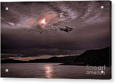 Sunset Near Crested Butte Acrylic Print