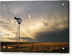 Sunset Near Santa Rosa New Mexico Acrylic Print