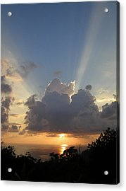 Sunset No.4 Acrylic Print by Gregory Young