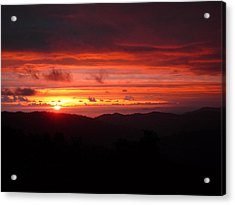 Sunset No.7 Acrylic Print by Gregory Young