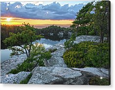 Sunset Of Contentment Acrylic Print