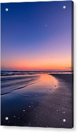 Sunset, Old Saybrook, Ct Acrylic Print