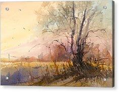 Sunset On 108th Acrylic Print
