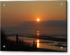 Acrylic Print featuring the photograph Sunset On Cape Cod by Alana Ranney
