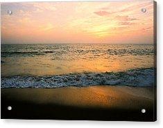 Sunset On Captiva Acrylic Print by AnnaJanessa PhotoArt