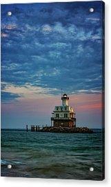 Sunset On Gardiners Bay Acrylic Print
