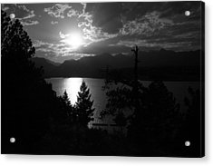 Sunset On Lake Estes Acrylic Print