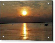 Sunset On Pocasset Acrylic Print