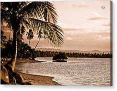 Sunset On The Bay 2 Acrylic Print by Mark Bradley