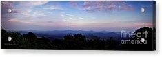 Sunset On The Blue Ridge Acrylic Print