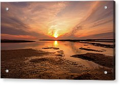 Sunset On The Cape Acrylic Print