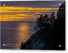 Sunset On The Edge Acrylic Print