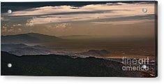 Sunset On The Sandias Acrylic Print
