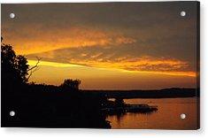 Sunset On The Shore  Acrylic Print