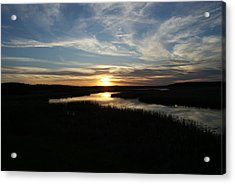 Sunset On The Totagatic Acrylic Print
