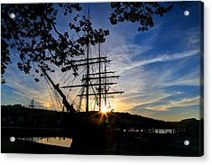 Sunset On The Whalers Acrylic Print