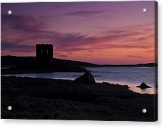 Acrylic Print featuring the photograph Sunset On Uist by Gabor Pozsgai