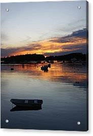 Sunset On Vinalhaven Maine Acrylic Print