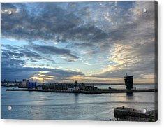 Sunset Over Aberdeen Acrylic Print